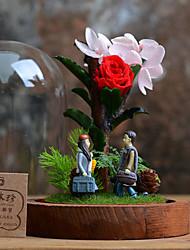 Fleur séchée Roses Fleurs artificielles