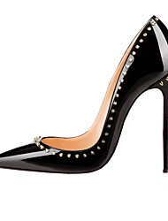 2017 new fashion womens shoes rivets high heeled shoes