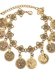 Bracelet- enAlliage-Vintage / Mignon / Soirée / Travail / Décontracté-Lien / Chaîne / Breloque