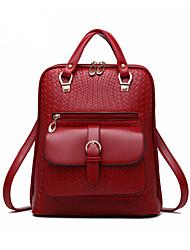 Women PU Duffel Backpack