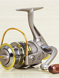 Metal  Fishing Spinning Reel 8 Ball Bearings  Exchangable Handle-GS5000