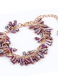 New Arrival Bohemian Multicolor Acrylic Strand Bracelets Daily / Casual 1pc Hot Sale