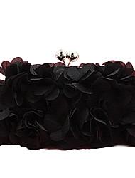 Women Other Leather Type Baguette Clutch-White / Pink / Purple / Gray / Black / Khaki / Fuchsia / Almond