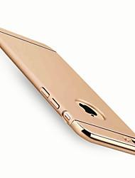 Pour Coque iPhone 7 Coques iPhone 7 Plus Coque iPhone 6 Coques iPhone 6 Plus Coque iPhone 5 Plaqué Coque Coque Arrière CoqueCouleur