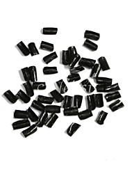neitsi super-cola de queratina das unhas vara chips de fusão em forma de u ponta cola prego para a extensão do cabelo preto marrom claro