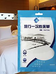 Máscara de Viaje para DormirForDescanso en Viaje Tejido Blanco 10*10*2cm