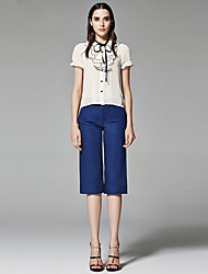 ZigZag® Da donna Colletto 1/2 Lunghezza Manica Shirt & Camicetta Beige - 11349