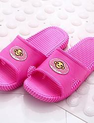 Women's Summer Slippers / Open Toe PVC Casual Flat Heel Multi-color