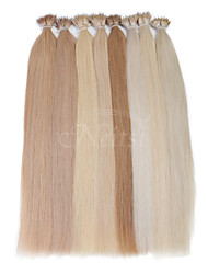 "Neitsi® 20"" 1g/s Nano Ring Loop Straight Hair 100% Human Hair Extensions Include Hair Tools"