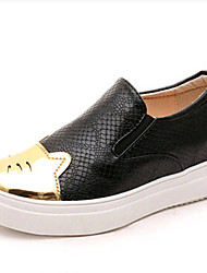 Women's Shoes PU Platform Creepers / Comfort Loafers Outdoor / Office & Career / Work & Duty / Athletic