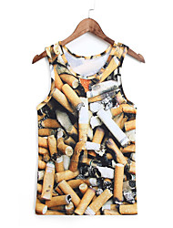 3D Vest Cigar Print Cosplay Costumes Cosplay Geeky Clothing For Male/Female