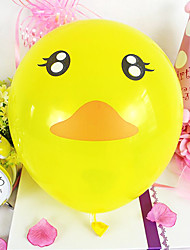 10 inches Cute Duck Balloon 100pcs/set
