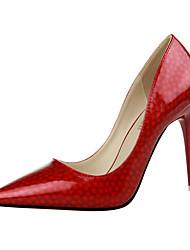 Sxey women high heels spotted leather women office pumps shoes women wedding shoes nightclub high heels