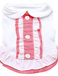 Dog Dress / Dress  A variety of colors / Summer  Plaid / Check Fashion