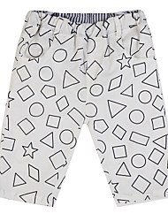 Boy's Cotton Pants,Summer Geometric