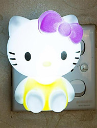Creative Warm White Cat Relating to Baby Sleep Night Light