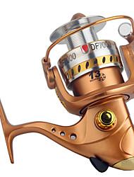 Спиннинговые катушки 5.2:1 13 Шариковые подшипники Заменяемый Морское рыболовство / Спиннинг / Пресноводная рыбалка / Обычная рыбалка-