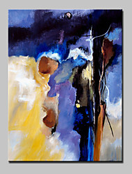 Lager Hand-Painted Modern Abstract Oil Painting On Canvas For Living Room Home Decor Wall Art Picture Whit Frame