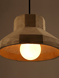 Dinning Room Pendant Lights Haning Lamp Cement Droplight American Modern Loft Restaurant Cafe Industrial Bar Lighting