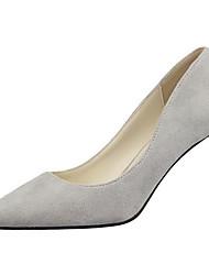 Scarpe Donna-Scarpe col tacco-Serata e festa / Formale-Tacchi-A stiletto-Sintetico-Nero / Rosa / Rosso / Grigio / Arancione / Borgogna