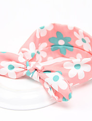 Kid's Lovely Floral Cute Rabbit Ears Shape Headband(1-6Years Old)