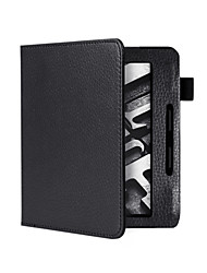 magnétique e-reader cas couvercle occasionnel pour le Kindle d'Amazon oasis litchi étui en cuir de motif