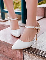 Women's Shoes Leatherette Stiletto Heel Heels Heels Office & Career / Dress / Casual Black / Yellow / Green