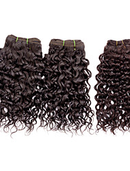 Top Super 100% Original brazilian Virgin Remy Human Hair for Wholesale & Salon Use, Water Wave, 110g, Double Drawn 3Pcs