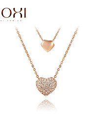 ROXI Rose Gold Heart Pendant Necklace Jewelry