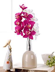 Polyester / Plastique Orchidées Fleurs artificielles