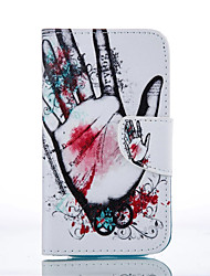 For Samsung Galaxy Case Card Holder / Wallet / with Stand / Flip / Pattern Case Full Body Case Cartoon PU Leather SamsungS6 / S5 / S4 /