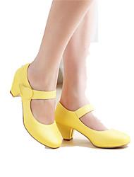 Pumps/høje hæle ( Sort/Gul/Rosa/Beige ) - GIRL - Rund tå