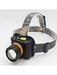 Освещение Велосипедные фары LED 1200 Люмен 3 Режим Cree T6 USB Водонепроницаемый / Перезаряжаемый / Масштабируемые