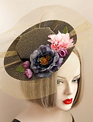 The British Style Golden Vintage Hat