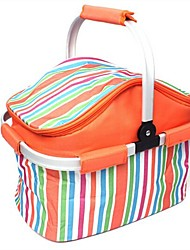 OEM PVC Oxford Sac de Picnic Rouge Rose jaune orange Unique Extérieur Camping