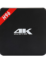 H96 Amlogic S905 Android TV Box,RAM 1GB ROM 8GB Quad Core WiFi 802.11n Não
