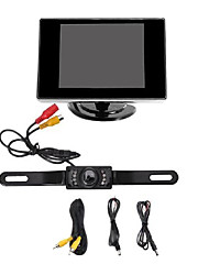 """Rückfahrkamera mit Nachtsicht + 3.5 """"TFT-LCD-Bildschirm (nicht fit für LKW, Koffer und lange Fahrzeug)"""