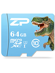 ZP 64GB UHS-I u1 / класс 10 MicroSD / MicroSDHC / microsdxc / tfmax чтения speed80 (Мб / с)