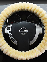 Rabbit 's Hair Steering Wheel Cover for Four Seasons Random Colors