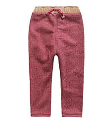 Girl's Pants,Cotton Spring Red
