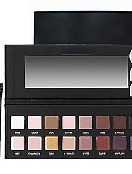 Pro Cosmetics Makeup Set(16 Colors Luminous Eyeshadow Eye Shadow Palette with Mirror+1PCS Eye Primer Base)