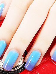 Ekbas Blue Color Gradient Nail Glue 16ML Nail Polish
