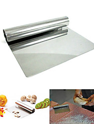 "6"" Stainless Steel Chopper Dough Scraper Cutter Pastry Kitchen Blade Cake Tool"
