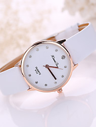 Women's Leather Band Analog Quartz Fashion Watch Jewelry Cool Watches Unique Watches