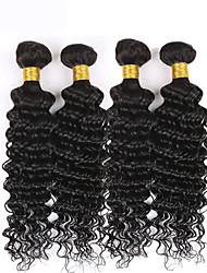Brazilian Deep Wave Virgin Hair 150g Human Hair Extension 3Pcs Deep Curly Virgin Hair