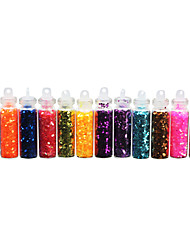 Lovely Diamond Sequins (12 Vial) Nail Jewelry