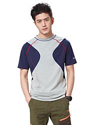 Course Tee-shirt / Hauts/Tops Homme Manches courtes Respirable / Limite les BactériesCamping & Randonnée / Pêche / Escalade / Fitness /