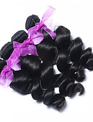 "3pcs/Lot 10-30"" Queen Hair Products Peruvian Virgin Hair Loose Wave Unprocessed  Human Hair Weave Hair Extension"