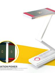 2 w fraîche ac blanc imperméable / dimmable / économie d'énergie rechargeable conduit lampe de lecture (couleurs assorties)
