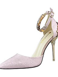 Women's Shoes AmiGirl 2016 New Style Wedding/Party/Dress Red/Black/Silver/Gold/Pink/White Stiletto Heels